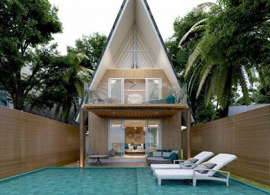Duplex Pool Villa - Maafushivaru