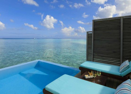 Velassaru Water Bungalow with Pool