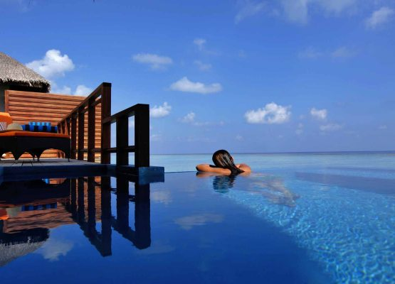 Velassaru Water Villa with Pool